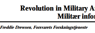 Revolution in Military Affairs - Militær informatik