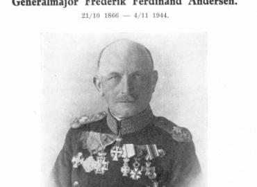 Generalmajor Frederik Ferdinand Andersen