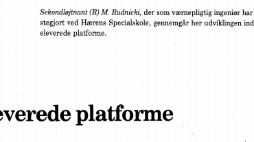 Eleverede platforme