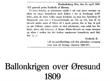 Ballonkrigen over Øresund 1809