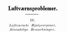 Luftværns problemer IV
