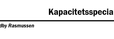 Kapacitetsspecialisering