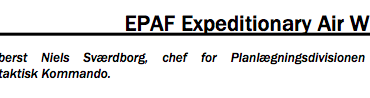 EPAF Expeditionary Air Wing