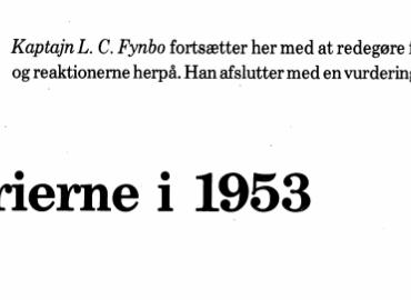 Mytterierne i 1953 - Del II