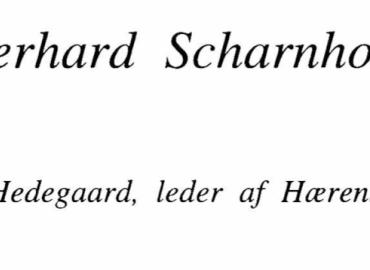 General Gerhard Scharnhorst og den danske hær