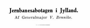 Jernbanesabotagen i Jylland