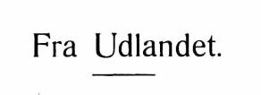 Fra Udlandet 1929 - 8