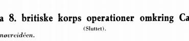 Fra 8. britiske korps operationer omkring Caen (sluttes)