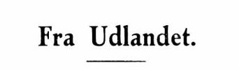 Fra Udlandet 1931 - 6