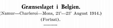 Grænseslaget i Belgien (2)