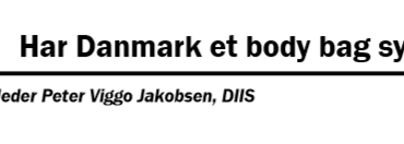 Har Danmark et body bag syndrom?