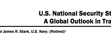 U.S. National Security Strategy: A Global Outlook in Transition