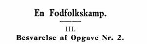 En Fodfolkskamp III