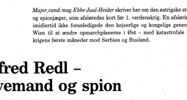 Alfred Redl - levemand og spion