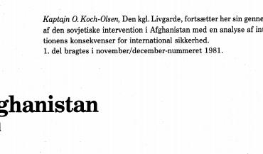 Afghanistan - 2. del