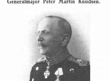 Generalmajor Peter Martin Knudsen